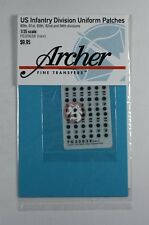 Archer 1/35 US 80.,81,,89.,92. and 94. Infantry Division Uniform Patches FG35038