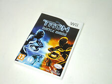 TRON EVOLUTION : BATTLE GRIDS complete in box game nintendo Wii