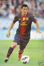 "FC BARCELONA ""LIONEL MESSI FOOT NEAR BALL"" POSTER - Soccer, UEFA League Football"
