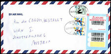 Israel 1999 Registered Commercial Cover To Austria #C39226