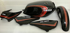 YAMAHA  RD250LC RD350LC 4LO 4L1 'MARS BAR' 2 STRIPE RED FULL PAINTWORK DECAL KIT