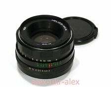 Made in USSR Helios-44M lens 2/58 mm Zenit Sony Canon M42 mount.Exc++.№7818158