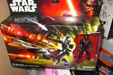 Star Wars The Force Awakens Elite Speeder Bike & Stormtrooper Scout Black Armor