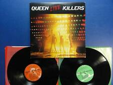 QUEEN  LIVE KILLERS emi 79 UK orig LP EX