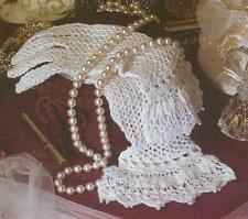 Crochet Pattern ~ Ladies Victorian Lace Gloves ~ Instructions