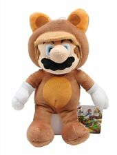 "New Genuine Nintendo 9"" Tanooki Mario Plush Super Mario Doll"