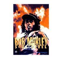 """BOB MARLEY FLAGGE / FAHNE """"SOUL REBEL"""" POSTERFLAGGE"""