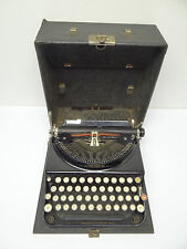 Vintage Used Navy Blue Remington Small Portable Typewriter Writers Parts Old
