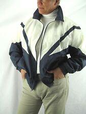 USA Olympic Vintage JC Penny Navy White Nylon Jacket,  Unisex Medium   NYZ3