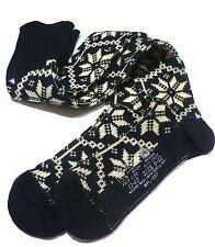 ALPINE NORDIC Navy Knee-High Winter Wool Boot Socks Men/Women Outdoor Ski