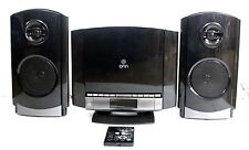 ONN Compact Stereo  System CD player AM/FM Radio AUX RCA input