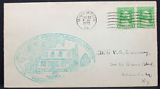 Us Illustrated Cover Mount vernon washington Bicentennial stamp usa lettre h-7586
