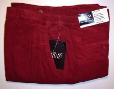Big Men's Red Botany 500® Tri-Waist™ Corduroy Pants - Size: 52 XS - Inseam: 26