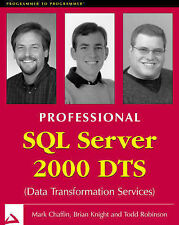 Professional SQL Server 2000 DTS (Data Transformation Services) (Programmer to P