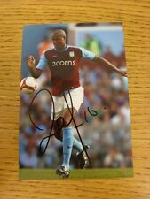 circa 2000s Autographed Glossy Photograph: Aston Villa - Knight, Zat.  When list