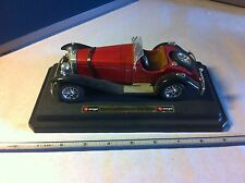 1928 Mercedes-Benz SSK 1:18 Diecast Sports Roadster Car Burago-NonProfit Org