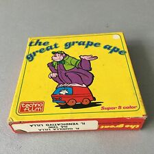 VINTAGE#THE GREAT GRAPE APE#FILM SUPER 8 SUPER 8  MM