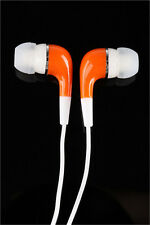 Orange 3.5mm High Quality In-Ear Earphone Earbud for Tablets PC Smartphone MP3