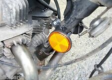 CLASSIC HONDA CB450DX - REPLACEMENT REFLECTOR AND CABLE TIDY BRACKET #FREE POST#