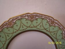 Stunning Royal Doulton Cabinet Plate with Gold Swags