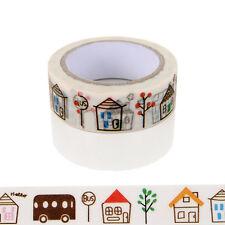 1pcs 15mmx10m house Washi Tape DIY Scrapbooking Sticker Masking Tape