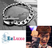 Korean Super Jr Junior Lee Teuk Chain Ball Toggle Bracelet