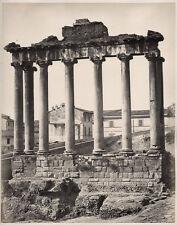 c.1860's PHOTO  ITALY ROME FOURM