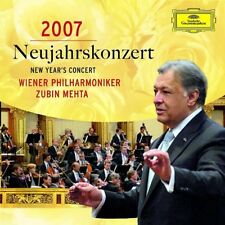 Neujahrskonzert 2007 Wiener Philharmoniker / Zubin Mehta 2CD OVP