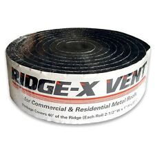 RIDGE-X Vent Foam for Metal/Residential Roofing FREE SHIPPING and HANDLING