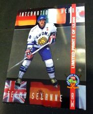 TEEMU SELANNE 1994 Classic Pro Prospects INTERNATIONAL HEROES Clear SP LP23 Rare