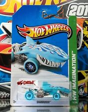 Hot Wheels 2013 #74 Sharkruiser™ LITE BLUE,BLUE RIMS,CLEAR BLUE TIRES,2ND COLOR