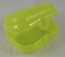 TWO Tupperware Oyster Packables Storage Containers Lunch Box or Toys Yellow New
