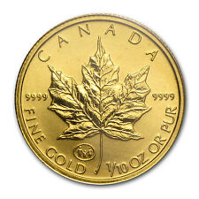 1997 Canada 1/10 oz Gold Maple Leaf BU (Family Privy) - SKU #43