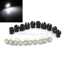 10Pcs Auto Car T5 0.2W 1 LED Light Instrument Panel Dashboard Lamp Bulb DC 12V