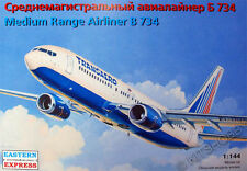 Eastern Express 1/144 Boeing 737-400 Transaero Civil Airliner