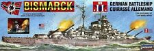 2015 LINDBERG MODEL KIT WW II BISMARCK GERMAN BATTLESHIP #70825 1:350 new
