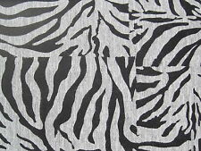 BLACK & GREY TIGER STRIPE wallpaper DOUBLE ROLL