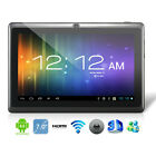 BLACK 7 INCH ANDROID 4.0 TABLET PC NETBOOK MID WIFI TOUCHSCREEN TAB EBOOK READER