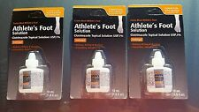 3 Taro Clotrimazole Topical Solution 1%  Antifungal Athletes Foot Ear nails