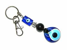0442 - Lucky Evil Eye Nazar Boncuk & Buddha Head Keyring / Bag Hanger Good Luck