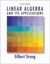 Linear Algebra and Its Applications by Gilbert Strang (2005, Hardcover)