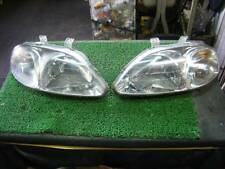 JDM 96-98 Honda Civic EK SO4 EK3 EK4 Headlights Lights Lamps Set Stanley OEM
