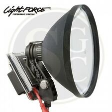 Lightforce spotlight 240mm Blitz HID Remote mounted 12v 50w 5000K - Lamping roof