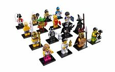 LEGO 8684 Complete Set of 16 Minifigures Series 2 New