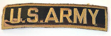US ARMY MILITARY CAMO  EMBROIDERED APPLIQUE BADGE MORALE PATCH SEW IRON ON