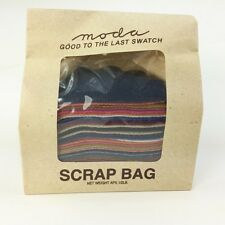 MODA wool scrap bags 1/2 pound bags mixed colours for applique, rugs, crafting