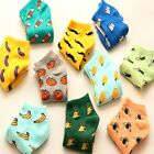 1 Pair Cute Women Girls Fruit Vegetable Cotton Low Cut Boat Summer Ankle Socks