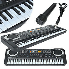New 61 Keys Digital Music Electronic Keyboard Key Board Toy Gift Electric Piano