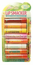 LIP SMACKER* 8pc Party Pack Set TROPICAL FLAVORS Balms/Gloss LIMITED EDITION New