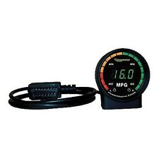 Auto Meter 9100 Gauge Fuel Economy RPM/MPH/Inst & Avg MPG Digital OBDII Ecometer